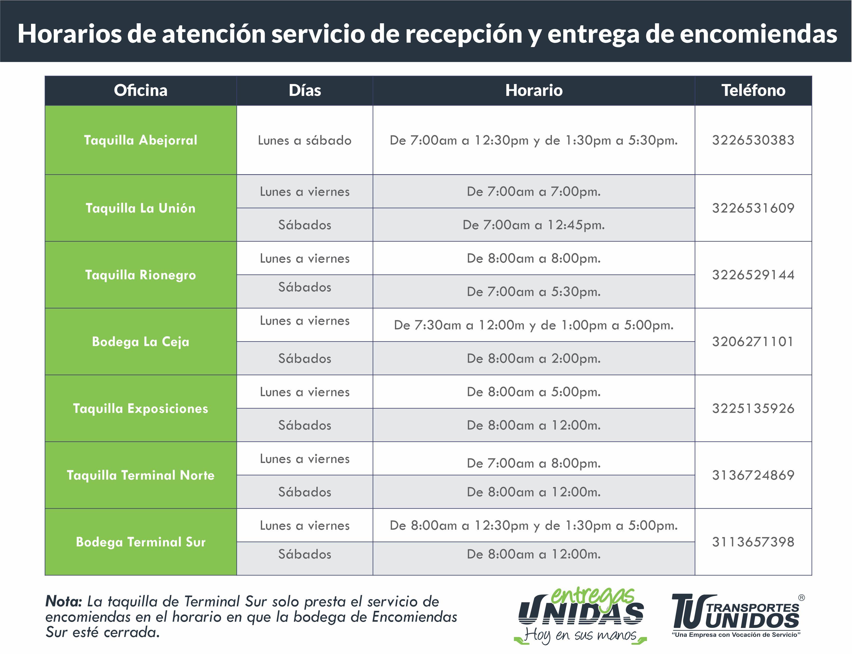 Horarios Actualizados _1